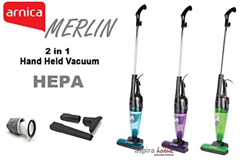 Merlin 2 In 1 Mini Handheld Stick 500 Watt Bagless Corded